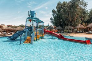 Hotel Sindbad Club in Egypte kinderzwembad