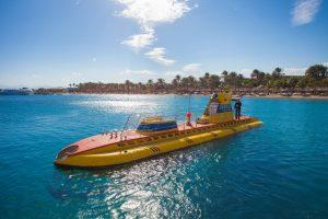 Hotel Sindbad Club in Egypte de Yellow submarine