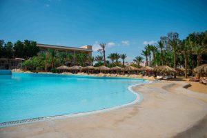 Hotel Sindbad Club in Egypte zwembad