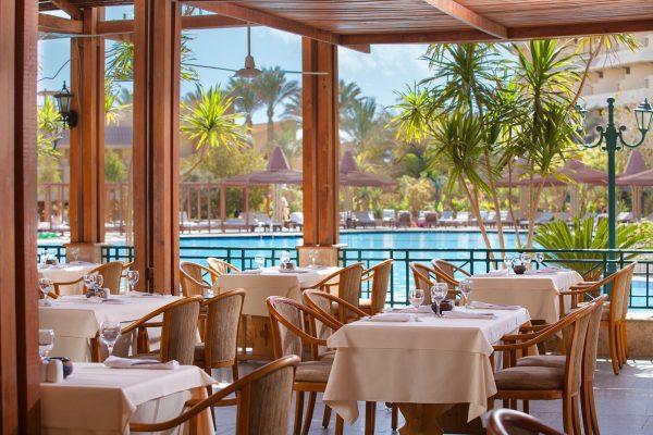 Restaurant van Hotel Sindbad Club in Egypte