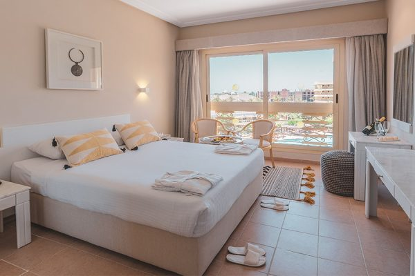 Standaardkamer in Hotel Sindbad Club in Egypte